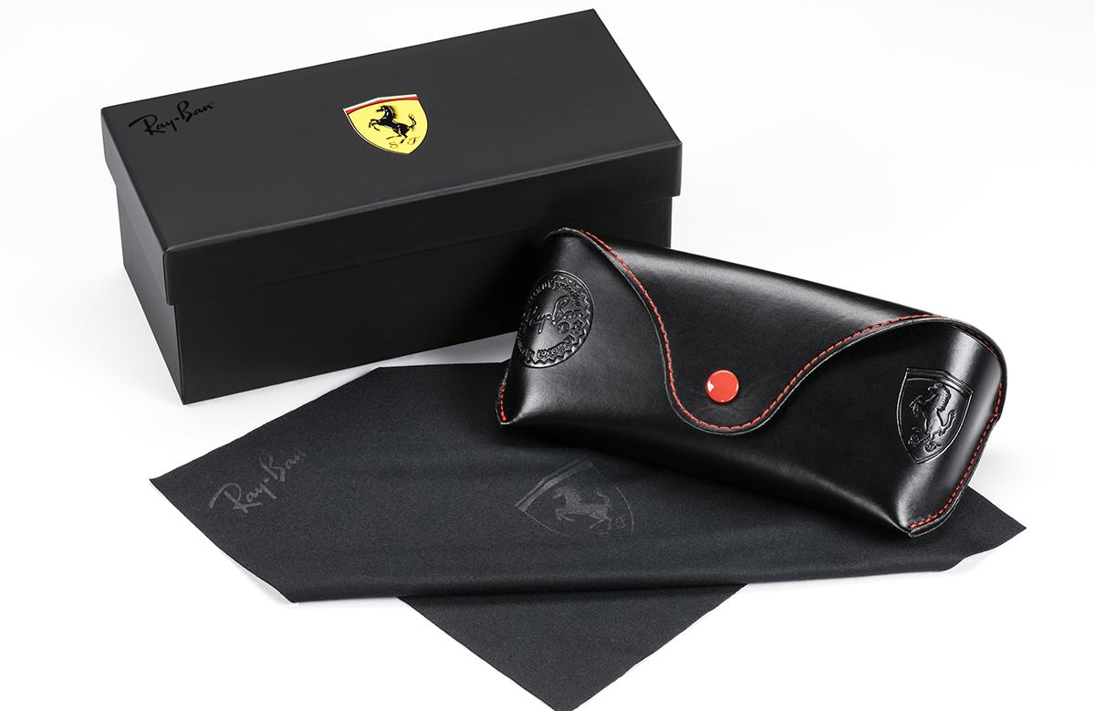 b8f0f115dd A Ray Ban junta-se à Scuderia Ferrari dentro e fora das pistas